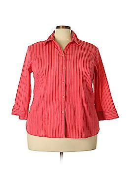 Quizz Woman 3/4 Sleeve Blouse Size 20 (Plus)