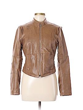 Arden B. Faux Leather Jacket Size M