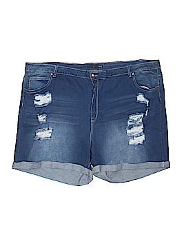 Denim 24/7 Denim Shorts Size 30 (Plus)