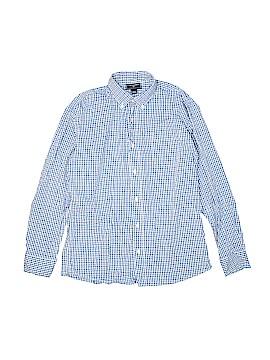 Oscar De La Renta Long Sleeve Button-Down Shirt Size 14
