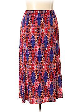 Susan Graver Casual Skirt Size 3X (Plus)
