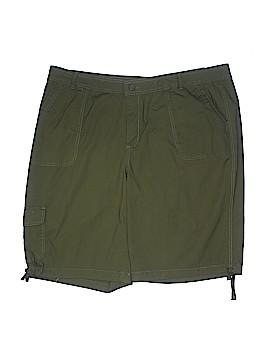 St. John's Bay Khaki Shorts Size 22 (Plus)