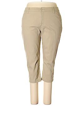 St. John's Bay Khakis Size 20w (Plus)
