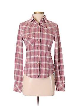 Paper Denim & Cloth Long Sleeve Button-Down Shirt Size Sm (1)