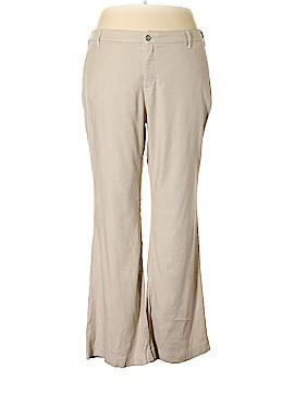 Not Your Daughter's Jeans Linen Pants Size 20 (Plus)