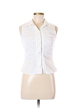 Xhilaration Sleeveless Button-Down Shirt Size M