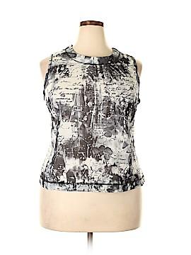 Laura Ashley Sleeveless Blouse Size 2X (Plus)