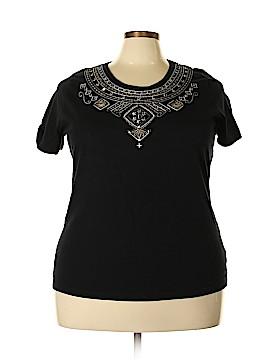 Essentials Short Sleeve Top Size 1X (Plus)
