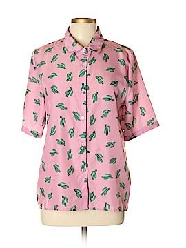 HaoDuoYi Short Sleeve Blouse Size XXL