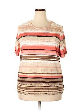 Allison Daley Short Sleeve Blouse Size 2X (Plus)
