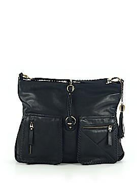 Crown Vintage Leather Shoulder Bag One Size
