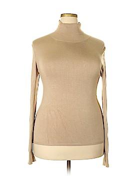Grace Dane Lewis Turtleneck Sweater Size XL