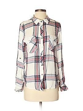 Thread & Supply Long Sleeve Button-Down Shirt Size M
