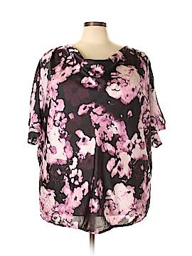Fashion Bug 3/4 Sleeve Blouse Size 4X (Plus)