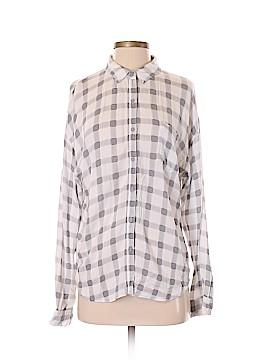 Leith Long Sleeve Blouse Size S