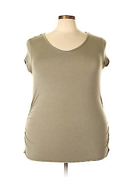 Newport News Short Sleeve Top Size 3X (Plus)