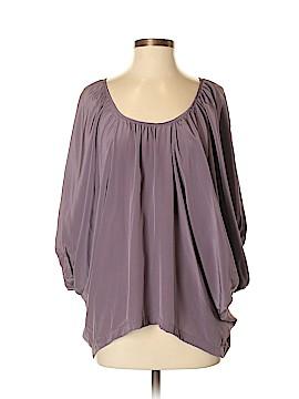Scoop NYC 3/4 Sleeve Silk Top Size M