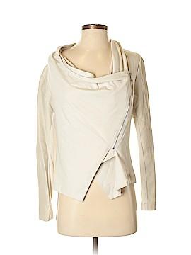 INC International Concepts Faux Leather Jacket Size S (Petite)