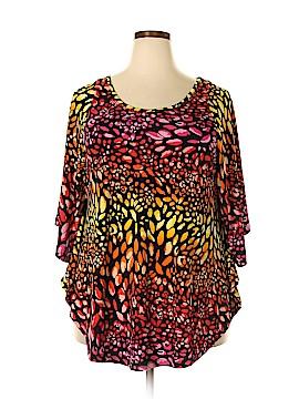 Rafaella Studio 3/4 Sleeve Blouse Size 2X (Plus)