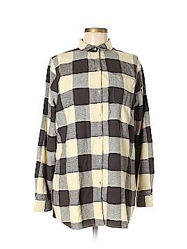 Woolrich Long Sleeve Button-Down Shirt Size M