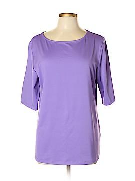 Susan Graver Short Sleeve T-Shirt Size L