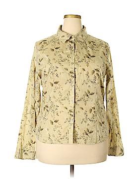 Magellan Sportswear Long Sleeve Button-Down Shirt Size XXL
