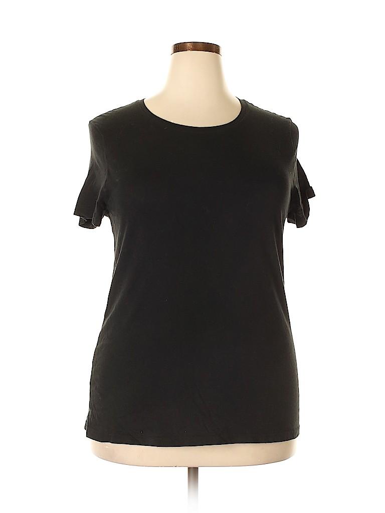 Faded Glory Women Short Sleeve T-Shirt Size XXL