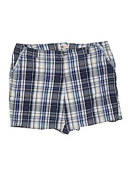 Faded Glory Khaki Shorts Size 26W (Plus)