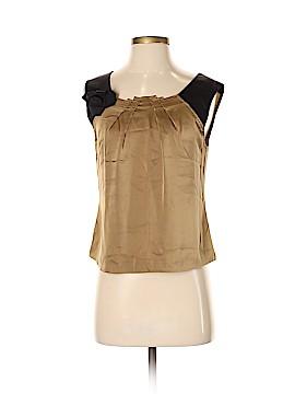 Alberta Ferretti Collection Sleeveless Silk Top Size 4