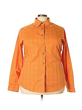 Rockies Long Sleeve Button-Down Shirt Size XXXL