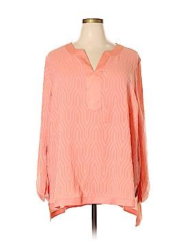 Dana Buchman Long Sleeve Blouse Size 3X (Plus)