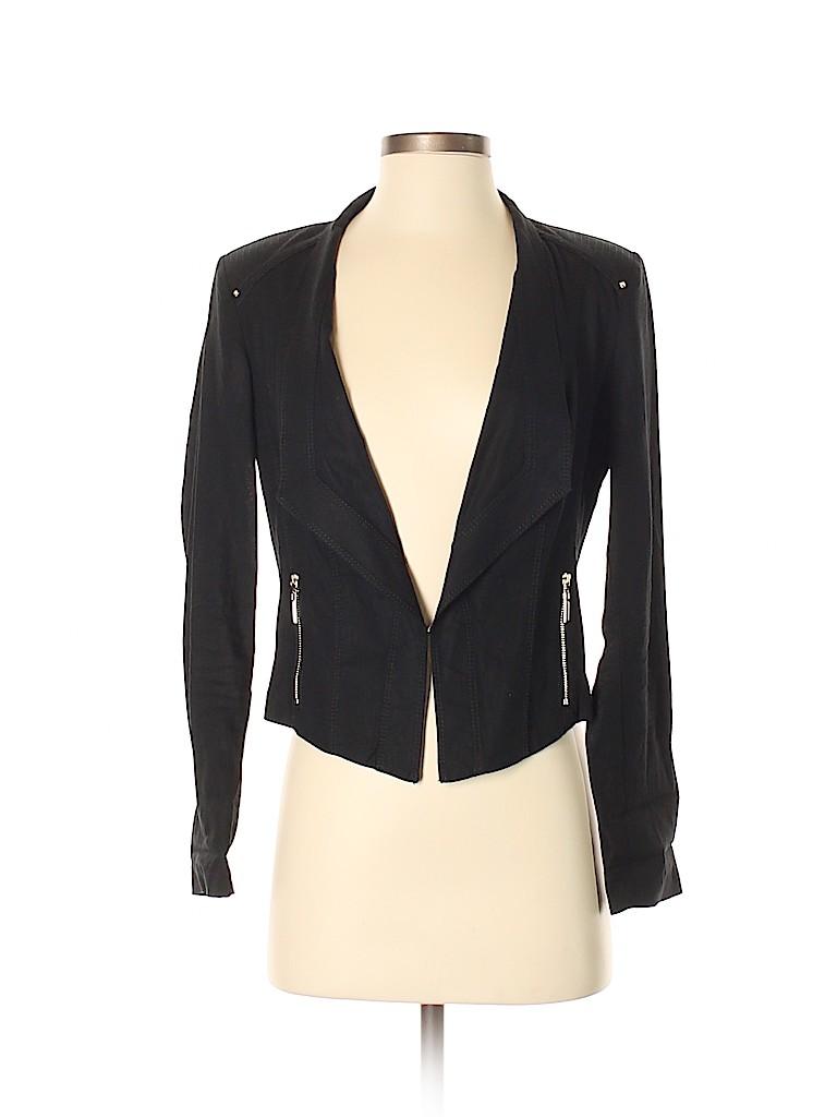 22f5bdf58b White House Black Market Solid Black Blazer Size 0 - 90% off