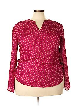 UNITI Long Sleeve Blouse Size 3X (Plus)