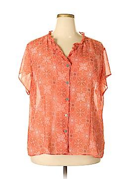 Covington Short Sleeve Blouse Size 26 (Plus)