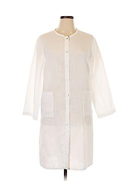 Eileen Fisher Long Sleeve Button-Down Shirt Size XL