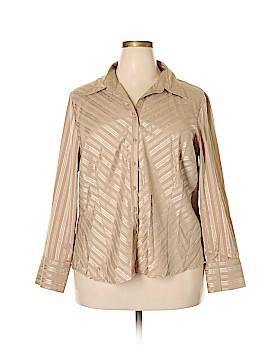 Covington Outlet Long Sleeve Blouse Size 20W (Plus)