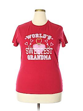 Three Hearts Short Sleeve T-Shirt Size 20 (Plus)