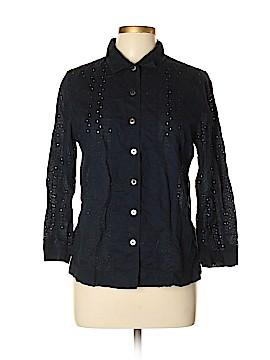 Ines de la Fressange for Uniqlo Long Sleeve Button-Down Shirt Size L