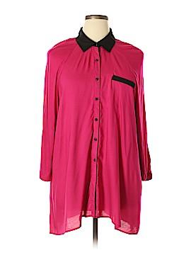 Zac & Rachel 3/4 Sleeve Blouse Size 2X (Plus)