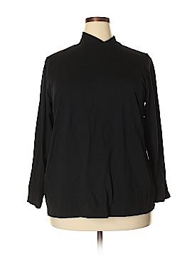 Bob Mackie 3/4 Sleeve T-Shirt Size 2X (Plus)