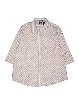DCC Short Sleeve Blouse Size 1X (Plus)