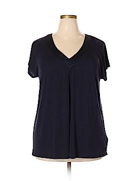 Carole Hochman Short Sleeve Top Size XXL