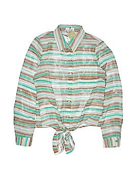 Edge Long Sleeve Blouse Size S