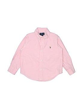 Ralph by Ralph Lauren Long Sleeve Button-Down Shirt Size 3T