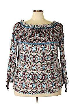 Hannah Long Sleeve Top Size 2X (Plus)