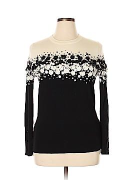 Carolina Herrera Wool Pullover Sweater Size XL