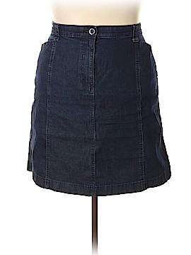 L.L.Bean Denim Skirt Size 20 (Plus)