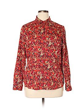 Coldwater Creek Long Sleeve Button-Down Shirt Size 14