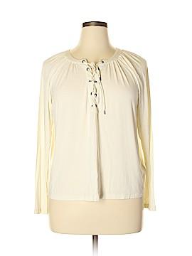Chaps Long Sleeve Top Size XL (Petite)