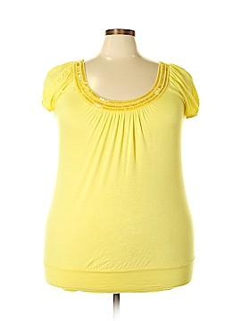 American Dream Short Sleeve Top Size 3X (Plus)